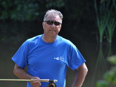 Get Hooked on Fishing Karl Humphries' kind donation