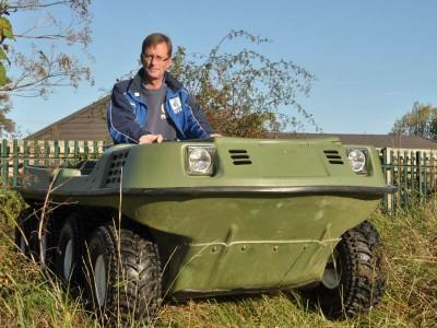 GHoPA complete restoration of Argocat vehicle