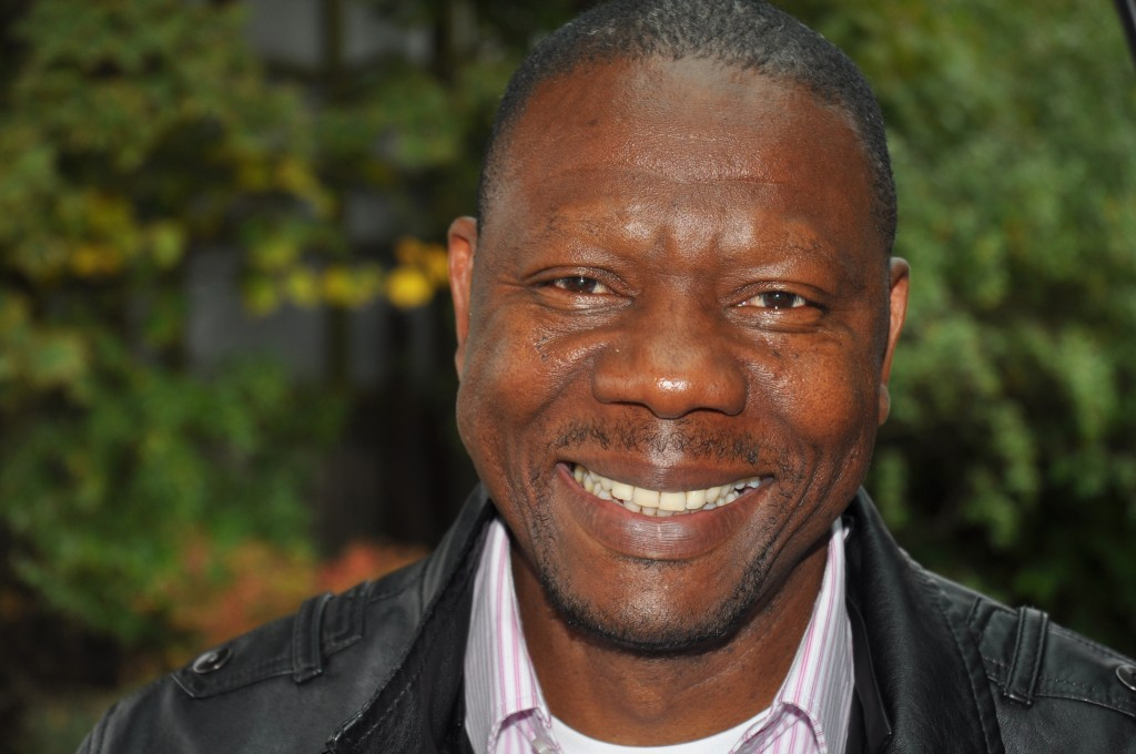 Jean-Pierre Kabuiku (a former volunteer)