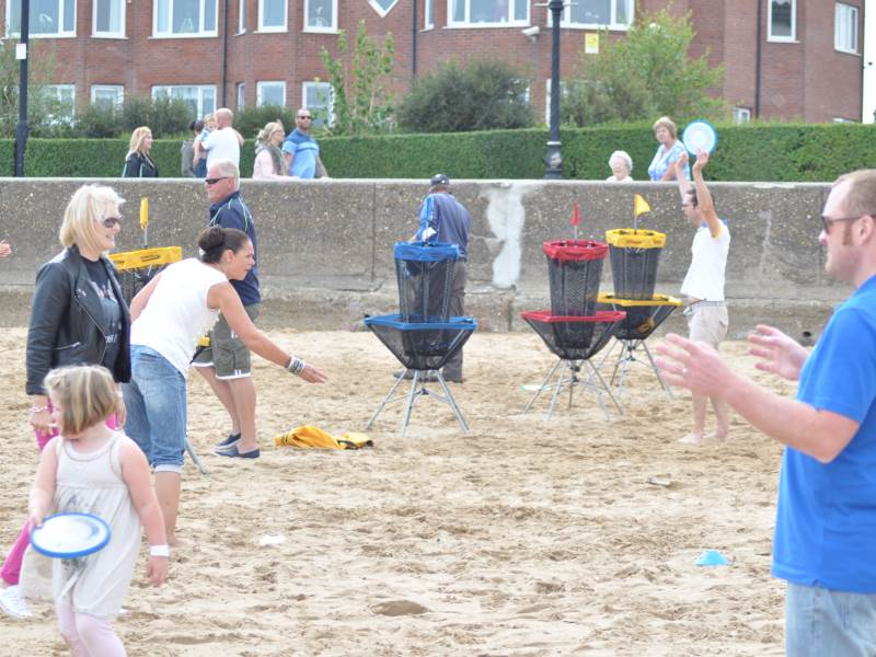 First Cleethorpes Beach Sports Festival