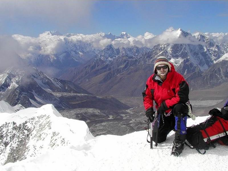 John Pomfret facing triple challenge in Himalayas