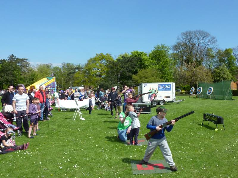 GHoPA attend Care Plus Community Day in Grimsby's People's Park