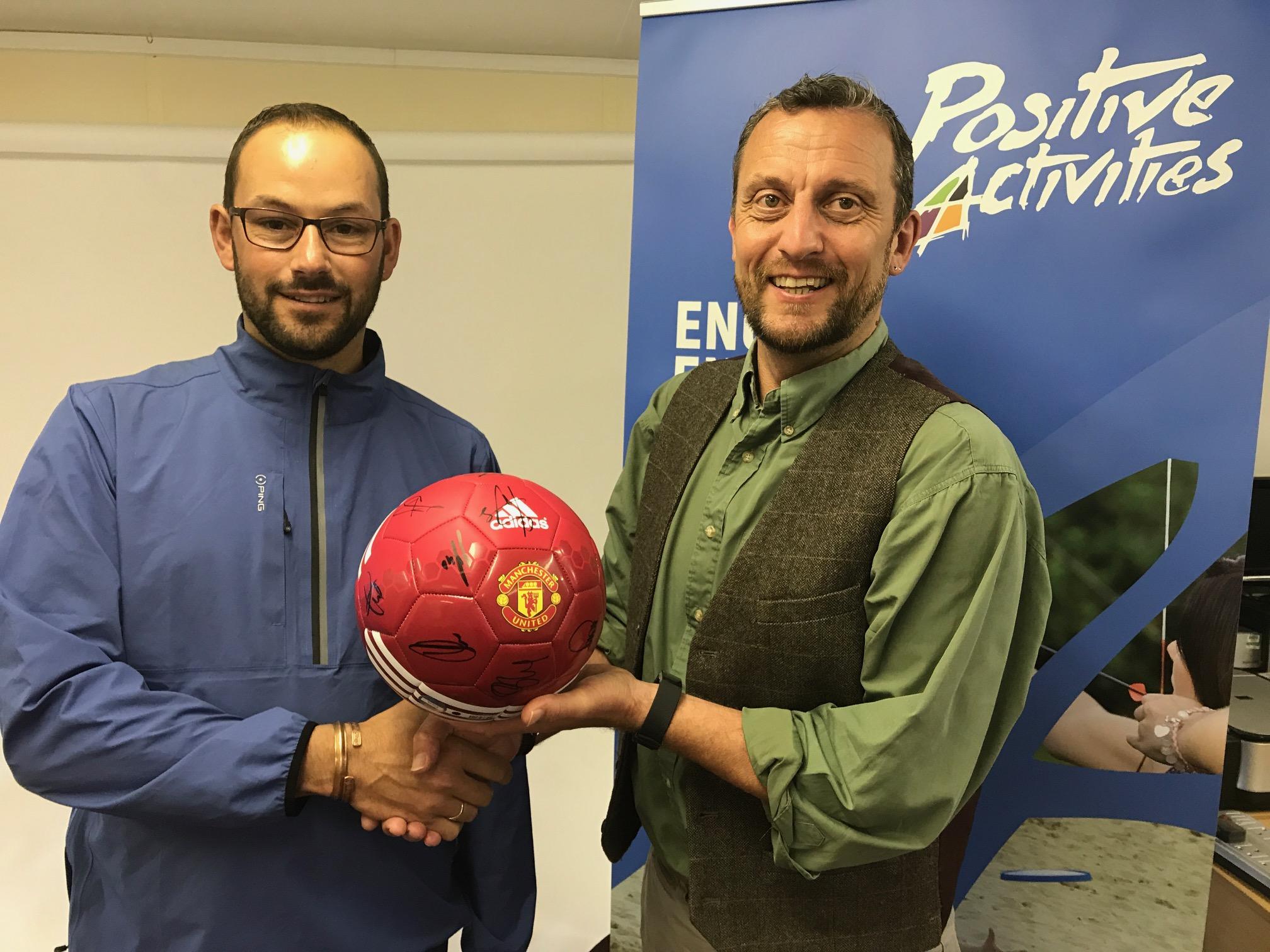 Winner of Manchester United Football